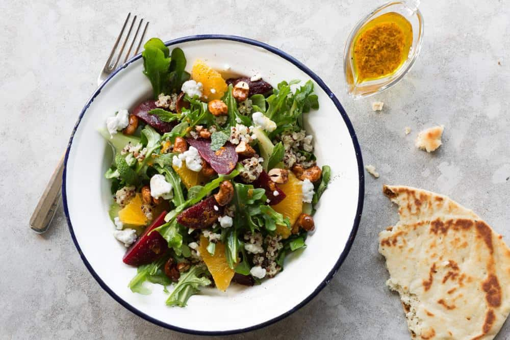 Beet Quinoa With Orange