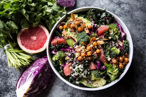 Green Super Detox Salad