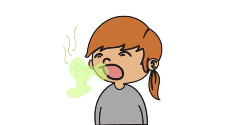 Treat bad breath